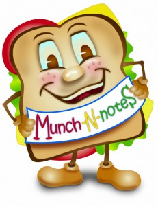 Munch-N-Notes logo